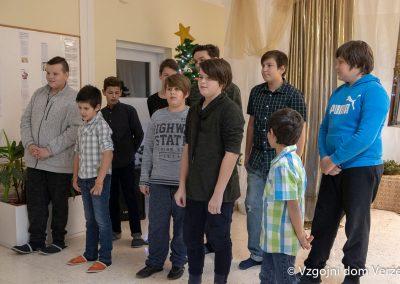 Novoletna zabava - vzgojni dom Veržej 10