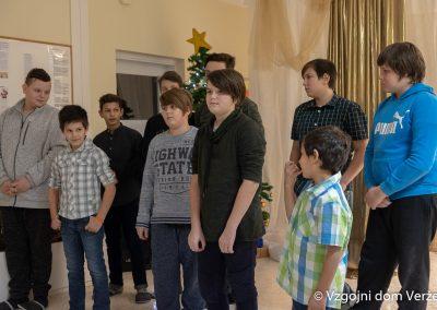 Novoletna zabava - vzgojni dom Veržej 12