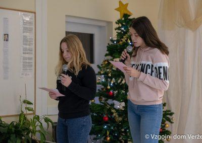 Novoletna zabava - vzgojni dom Veržej 14